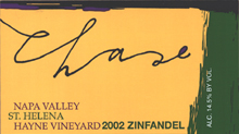 Chase Family Cellars-Zinfandel