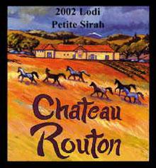 Chateau Routon Winery-Petite Sirah