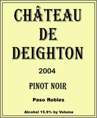 Chateau de Deighton-Pinot Noir