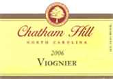 Chatham Hill Winery-Viognier