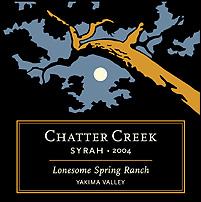 Chatter Creek-Syrah