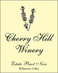 Cherry Hill Winery Estate Pinot Noir