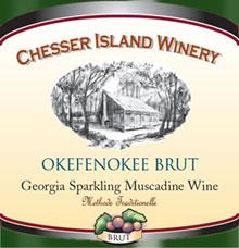 Chesser Island Winery-Okefenokee Brut