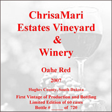 ChrisaMari Vineyard-Oahe Red