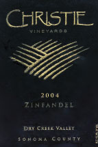 Christie Estate Winery and Vineyards-Zinfandel
