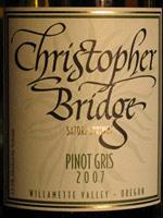 Christopher Bridge Cellars-Pinot Gris