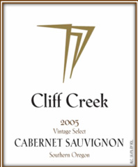 Cliff Creek Cellars-Cabernet Sauvignon