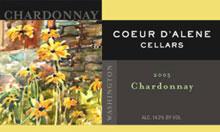 Coeur d'Alene Cellars-Chardonnay