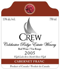 Colchester Ridge Estate Winery-Cabernet Franc