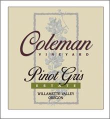 Coleman Vineyard-Pinot Gris