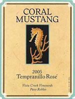 Coral Mustang Tempranillo Rose