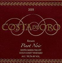 Costa de Oro Pinot Noir