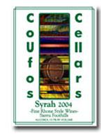Coufos Cellars-Syrah