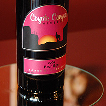 Coyote Canyon Best Red Wine