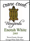 Crane Creek Vineyards-Enotah White