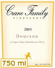 Crane Family Vineyards-Douceur