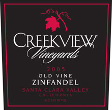 Creekview Vineyards-Old Vine Zin
