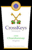 CrossKeys Vineyards-Chardonnay
