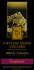 Crystal Basin Cellars-Zinfandel