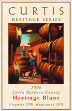 Curtis Winery - Heritage Blanc