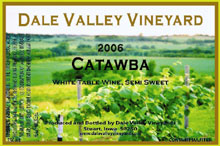 Dale Valley Vineyards-Catawba
