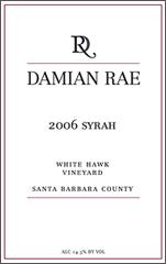 Damian Rae Winery-Syrah
