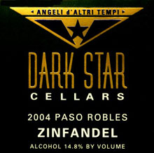Dark Star Cellars-Zinfandel