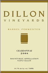 Dillon Vineyards-Chardonnay