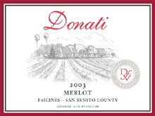Donati Family Vineyard-Merlot