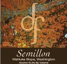 Dry Falls Cellars-Semillon
