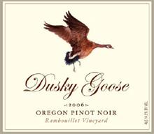 Dusky Goose-Pinot Noir