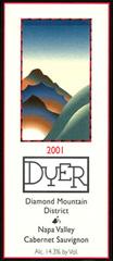Dyer Vineyard Diamond Mountain District Cabernet Sauvignon