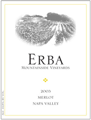 ERBA Mountainside Vineyards-Merlot