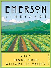 Emerson Vineyards-Pinot Gris