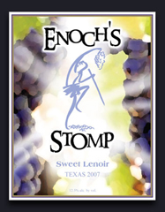 Enoch's Stomp Vineyard and Winery-Sweet Lenoir