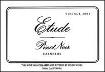 Etude Pinot Noir Carneros 2001