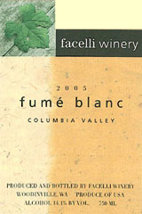 Facelli Winery-Fume Blanc
