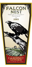 Falcon Nest Vineyards and Winery-Cabernet Sauvignon