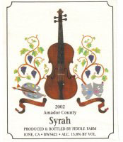 Fiddle Farm Winery-Syrah