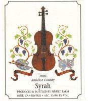 Fiddle Farm Winery-Syrah