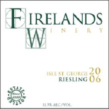 Firelands Wine-Riesling