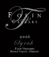 Folin Cellars-Syrah