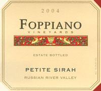 Foppiano Vineyards -Petite Sirah