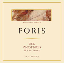 Foris Vineyard Winery-Pinot Noir