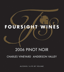 Foursight Wines-Pinot Noir