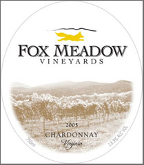 Fox Meadow Vineyards and Winery-Chardonnay