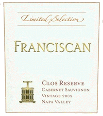 Franciscan Oakville Estate-Clos Reserve