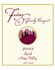 Frias Family Vineyard-Syrah