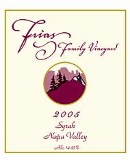 Frias Family Vineyard-Syrah