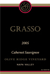 Grasso Vineyard Napa Cabernet Sauvignon